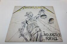 Metallica And Justice For All LP Record VG+/VG+ 88 South Korea Release Gatefold