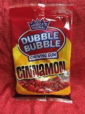 Dubble Bubble Cinnamon Chewing Gum / 4 oz Bag Expires 10/2017