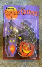 Halloween Cookie Cutters Bat Witch Owl Pumpkin Cookie Cutter Set 4 piece