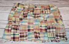 Women's Liz Claiborne Plaid Mini Skirt Size 10