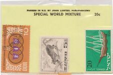 (V6-24) 1960s World old stamps pack 3stamps Mix (X)