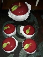 New listing Temptations ~ Apple ~ Bakeware ~ 6 Pieces New