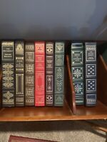 The Franklin Library LOT Of 8 HC Leatherette includes  Pride And Prejudice