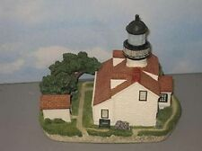Harbour Lights Lighthouse Point Pinos Ca #170 *Beautiful Piece* Free Ship
