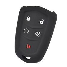 Silicone Car Key Cover Remote Fob For Cadillac CT6 ATS CTS XTS SRX XT5 15-19