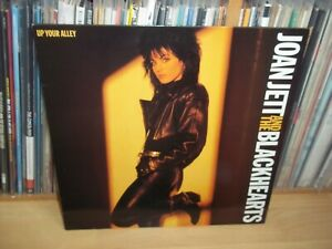 JOAN JETT & the BLACKHEARTS Up your alley UK 1988 LONDON original LP with INNER