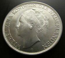 Niederlande 2 1/2 Gulden Silber 1944 Wilhelmina Silver Ag 0,720  Art.001-027