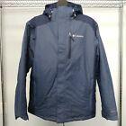 NEW! Columbia Tipton Peak Waterproof Insulated Jacket - Men's Sizes, Navy&Black photo