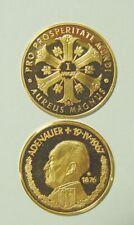 Goldmedaille - Konrad Adenauer PP - 3,45 Gramm 980 Gold/AU - 21 mm