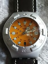 1998 Men's Swatch Watch Irony Scuba 200 Toutatis Swiss Made Divers Wristwatch
