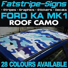 FORD KA MK1 ROOF CAMO GRAPHICS STICKERS STRIPES DECALS CAMOUFLAGE STREET SPORT