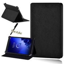 For Alcatel 1T 7 10 / 3T 8 10 / A3 10+ Pen Folio Leather Tablet Stand Cover Case