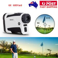 600m 6x Laser Range Finder Professional handheld Rangefinder for Golf Hunting AU