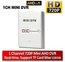 Super Mini AHD DVR Recorder HD 720P Support SD Card 128GB Real time 1Ch CCTV DVR
