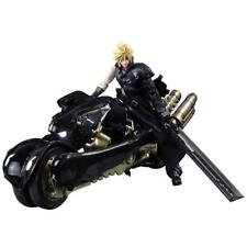 NEW PLAY ARTS Kai FINAL FANTASY VII ADVENT CHILDREN Cloud Strife & Fenrir Figure