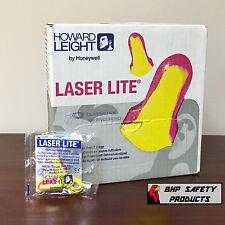 HOWARD LEIGHT LASER LITE LL-30 DISPOSABLE FOAM EAR PLUGS CORDED 100 PAIR/BOX