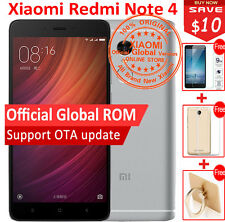 "Original Xiaomi Redmi note 4 3GB 64GB MTK Helio X20 Deca Core 5.5""  MIUI 8 Phone"