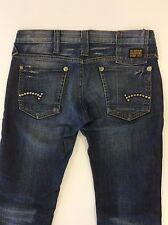 G-Star Raw Denim Women's Stud - Ultra Low Rise Skinny Jeans - Size 26
