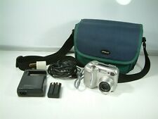 Nikon COOLPIX 885 3.2MP Digital Camera, with battery, charger and bag - Silver