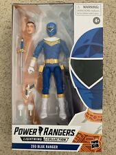 Power Rangers Lightning Collection Zeo Blue Ranger In Hand!