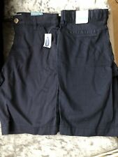Old Navy Age 12 Chino Shorts -Navy X2 Stretch Waist band NEW Tags
