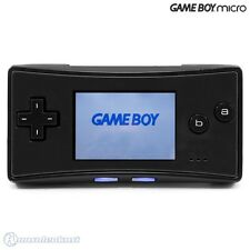GameBoy Micro - console #black (incl. power supply)