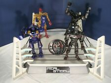 Real Steel Noisy Boy, Zeus, Midas, Atom And Electronic Ring!