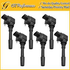 OEM Quality Ignition Coil 6PCS for 15-17 Porsche Cayenne Macan Panamera 3.0/3.6L
