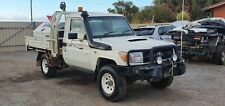 2012 TOYOTA LANDCRUISER VDJ79R 4.5L V8 TURBO DIESEL UTILITY DAMAGED REPAIRABLE
