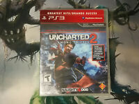 Uncharted 2 Among Thieves Greatest Hits PS3 Sony Playstation Brand New Sealed