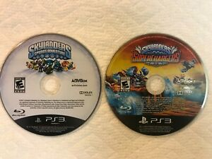 Skylanders PS3 Lot - Spyro's Adventure and Superchargers - 2 Discs Game Only