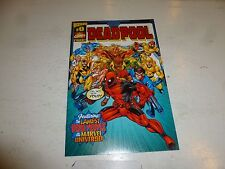 DEADPOOL Comic - Vol 1 - No 0 - Date 1998 - Wizard / Marvel Comics (Free)