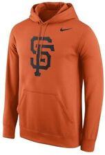 San Francisco Giants Men's Nike Team Logo Peformance Hoody Sweatshirt - Orange