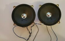 """Panasonic RX-FW17 Boombox REPLACEMENT PARTS - OEM 4"""" Speakers Pair USED 2.5W"""