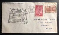 1939 Shediac Canada to Foynes IReland FFC airmail First Round Flight Cover