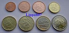 Finland setje / KMS 8 munten 2001 UNC