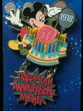 Disney Pin - Mickey Mouse 50th Anniversary Celebration 35 Magical Milestones WDW