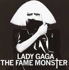 LADY GAGA THE FAME MONSTER 2009 UK DELUXE EDITION 2 CD BOXNEW