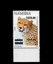 Namibia 2005 Leopard Overprint error