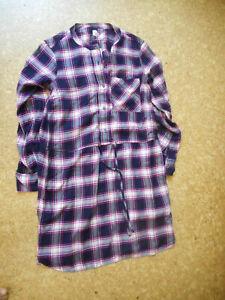 Gap 100% rayon plaid casual dress, S/P