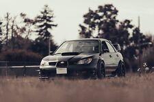 Subaru Impreza WRX Tuning Car SILK POSTER 24x36
