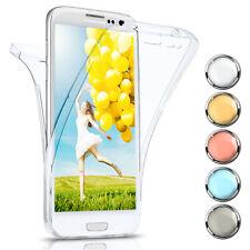 360 Grados Completo Funda Protectora para Samsung Galaxy S3 Silicona Clear Nuevo