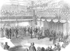 BIRMINGHAM. Address to the HRH The Duke Of Cambridge, in the Town Hall, 1857