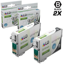 LD© Replacements for Epson T127 2pk HY Black Ink T127120