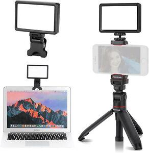 Scontato| Kit illuminazione videoconferenza, vlogger, treppiede, bastone selfie