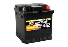 WAYMAN Autobatterie W42 12V 42AH 390A Starterbatterie L 175mm B 175mm H 190mm