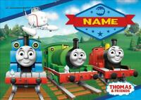 THOMAS THE TANK ENGINE c PERSONALISED PLACE MAT DINNER MAT TABLE MAT