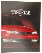 FORD WINDSTAR 1995 dealer brochure catalog - French - Canada