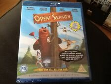 OPEN SEASON . Blu-ray NEW SEALED ( ASTON KUTCHER , MARTIN LAWRENCE ) + extras