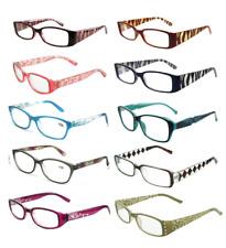 ad80cb19cd73 DESIGNER WOMEN S READING GLASSES 4 PAIR FASHION LADIES EYEGLASSES MIX FREE  GIFT